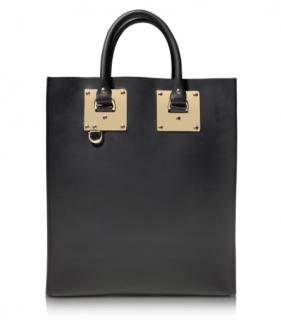 Sophie Hulme Black Albion Tote Bag