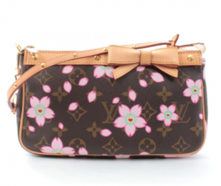 Louis Vuitton x Takashi Murakami Cherry Blossom Monogram Shoulder Bag