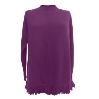 Weekend Max Mara Purple Wool & Cashmere Jumper