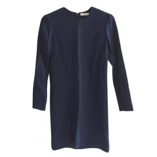 Celine by Phoebe Philo Navy Shift Dress
