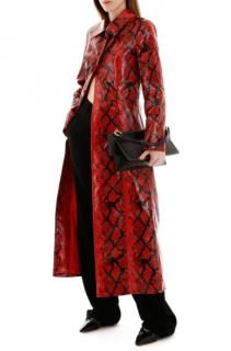Stand python print red mia coat