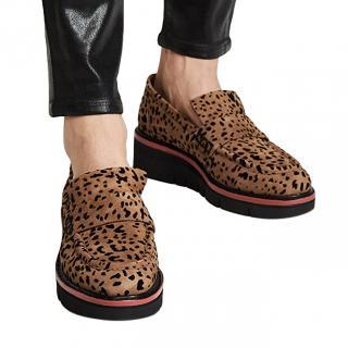 Rag & Bone Taryn Leopard Print Loafers
