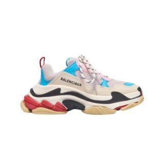 Balenciaga Multi-Coloured Triple S SNeakers