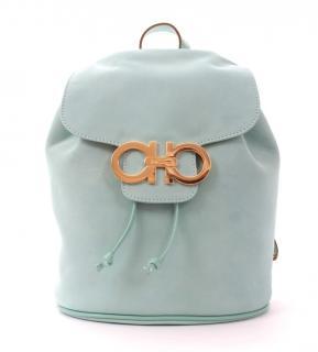 Ferragamo Leather Gancini Backpack