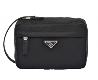 Prada Nylon Black Travel Pouch