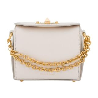 Alexander McQueen Grained Leather Box 19 Bag