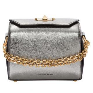 Alexander McQueen Metallic Leather Box 19 Bag