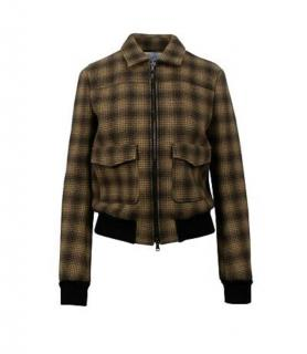 REDValentino Wool Check Jacket