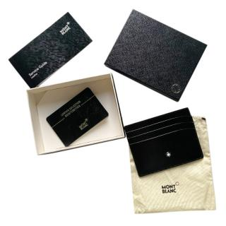 Mont Blanc Black Meisterst�ck Pocket 6cc Card Holder