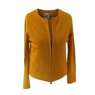 Hermes Mustard Yellow Cashmere Twin-Set