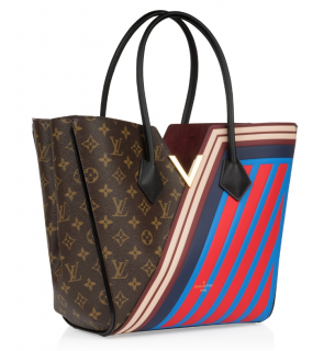 Louis Vuitton Limited Edition Striped Monogram Kimono MM