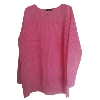 Weekend Max Mara Pink Mohair Blend Jumper