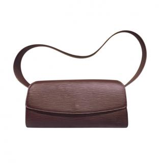 Louis Vuitton Brown Epi Leather Shoulder Bag