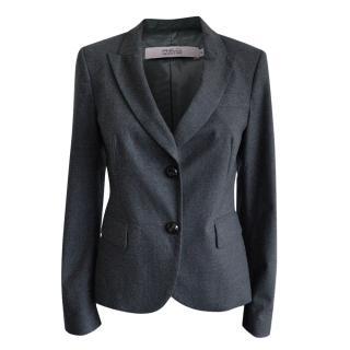 REDValentino Wool Grey Tailored Jacket