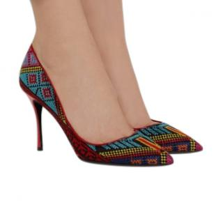 Nicholas Kirkwood Embroidered Pumps