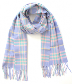 Burberry House Check Cashmere Pastel Scarf