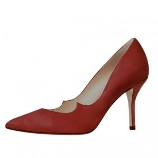 Paul Andrew Kimura 85 Suede Pumps in Spice