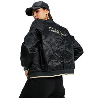 Puma x Charlotte Olympia reversible bomber Jacket