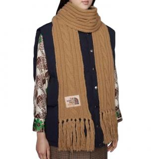Gucci The North Face x Gucci wool scarf