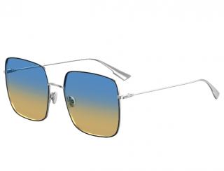 Dior Blue/Yellow DiorStellaire1 Square Sunglasses