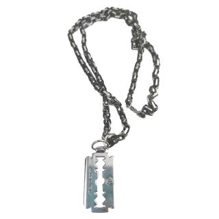 Philipp Plein Razor Blade Necklace