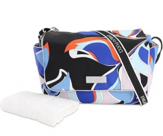 Emilio Pucci Nylon Baby Diaper Bag