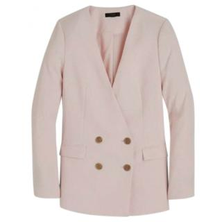 J Crew Pale Pink French Girl Tailored Jacket