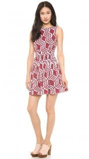 Thakoon Addition Embroidered Mini Dress