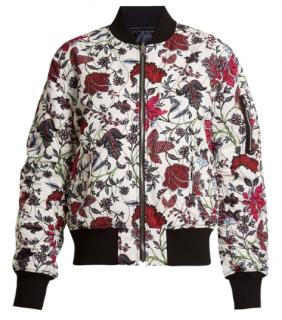 DVF Canton-print reversible bomber jacket