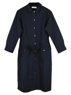 Mackintosh Navy Blue Shirt Dress