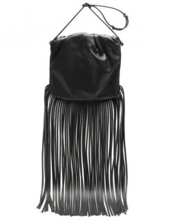 Bottega Veneta The Fringe Pouch leather cross-body bag