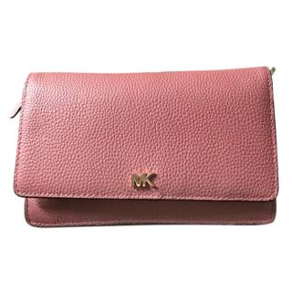 Michael Michael Kors Leather Strap Wallet