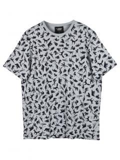 Christopher Raeburn Grey Animal Mascot T-Shirt