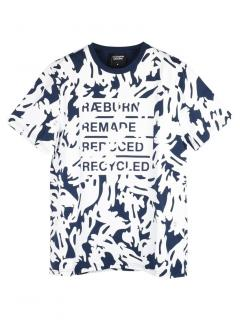 Christopher Raeburn Camo Remade Print T-shirt.