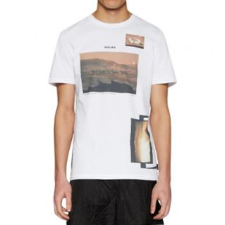 Christopher Raeburn R� Gallery Cotton Jersey T-shirt In White