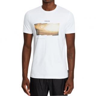 Christopher Raeburn White Jersey Habitat T-Shirt