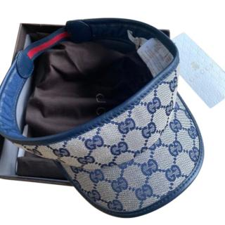 Gucci Kids Supreme Blue Visor