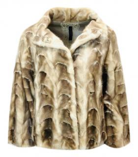 Lederer Blonde Mink Fur Short Jacket