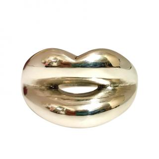 Solange Azagury Partridge Sterling Silver Lips Ring