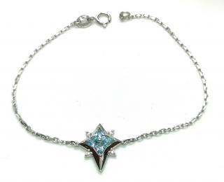 Fei Liu Star of Love topaz and diamond bracelet