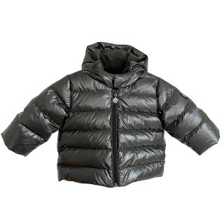 Bonpoint Metallic Hooded Puffer Jacket