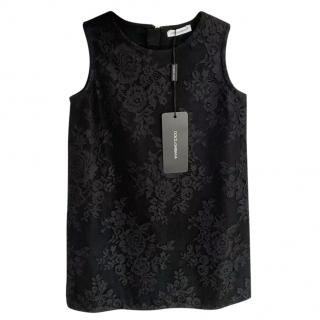 Dolce & Gabbana kids sleeveless lace dress