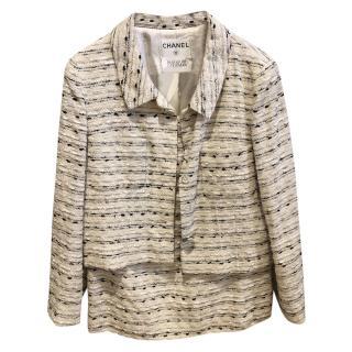 Chanel for Bergdorf Goodman Vintage Tweed Skirt Suit