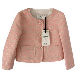 Bonpoint Couture Pink Jacquard Jacket