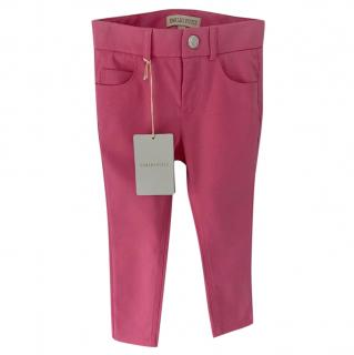 Emilio Pucci Kids Pink Trousers
