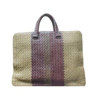 Bottega Veneta Intrecciato Briefcase. Men