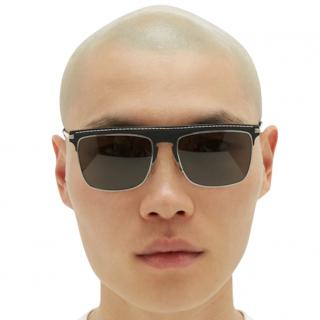 Loewe D Frame Black Sunglasses