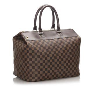 Louis Vuitton Damier Ebene Greenwich PM Travel Bag