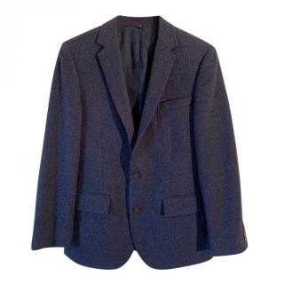J Crew Blue Tweed Thompson Tailored Jacket