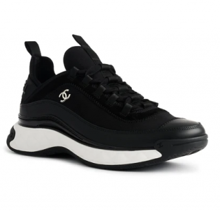 Chanel Black & White Classic Sneakers